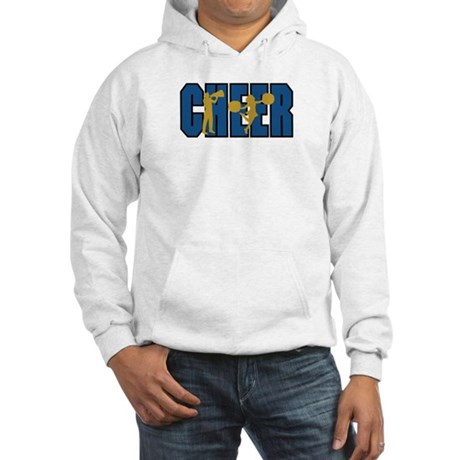 CHEER *15* {blue/gold} Hooded Sweatshirt