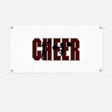CHEER *15* {crimson} Banner