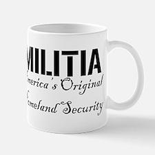Militia: America's Original Homeland Security Mug