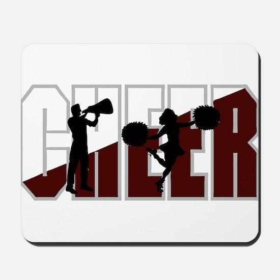 CHEER *16* {crimson/white} Mousepad