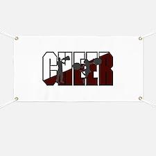 CHEER *16* {crimson/white/gra Banner
