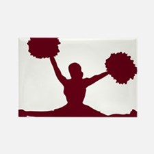 CHEER *17* {crimson} Rectangle Magnet