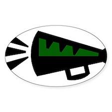 MEGAPHONE *3* {green} Decal