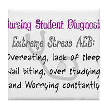 Nursing Student Tile Coaster