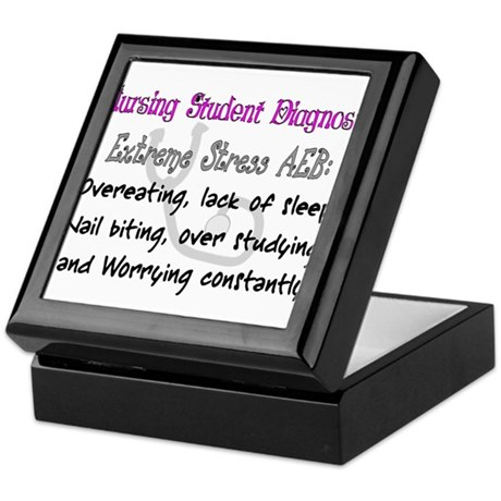 Nursing Student Keepsake Box