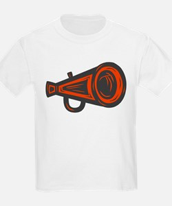 MEGAPHONE *4* {orange/gray} T-Shirt