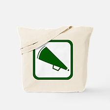 MEGAPHONE *5* {green} Tote Bag