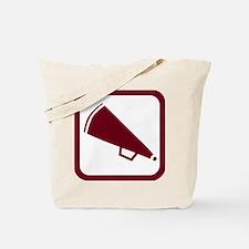 MEGAPHONE *5* {crimson} Tote Bag