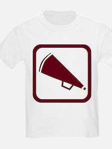 MEGAPHONE *5* {crimson} T-Shirt