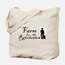 Farm for the Revolution Tote Bag