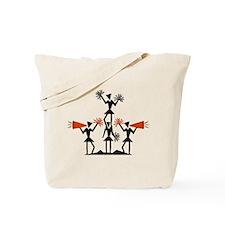CHEER *29* {orange} Tote Bag
