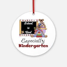 Kindergarten School is Cool Ornament (Round)