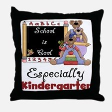 Kindergarten School is Cool Throw Pillow