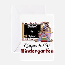 Kindergarten School is Cool Greeting Card