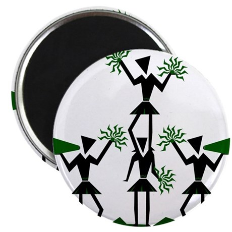"CHEER *29* {green} 2.25"" Magnet (100 pack)"