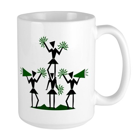 CHEER *29* {green} Large Mug