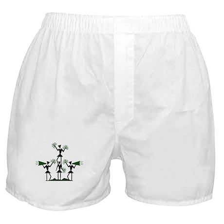 CHEER *29* {green} Boxer Shorts