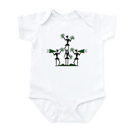 CHEER *29* {green} Infant Bodysuit