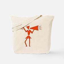 CHEER *30* {orange} Tote Bag