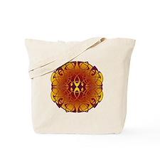 Celtic Sun Mandala Tote Bag