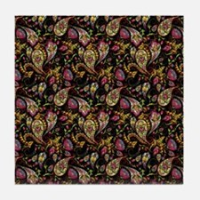 Pretty paisley Tile Coaster