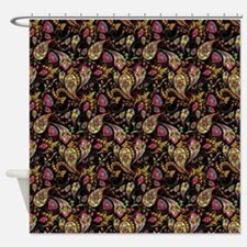 Pretty paisley Shower Curtain