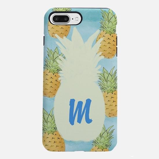 Pineapple Monogrammed iPhone 7 Plus Tough Case