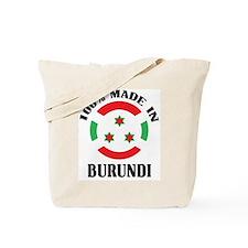 Made In Burundi Tote Bag