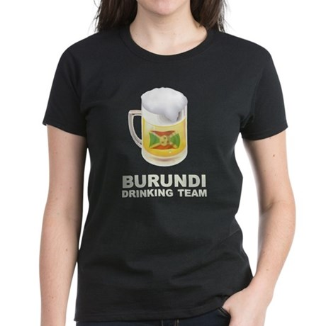 Burundi Drinking Team Women's Dark T-Shirt