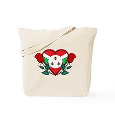 Love Burundi Tote Bag