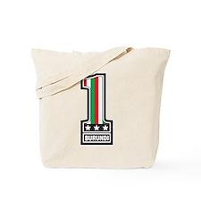 Number One In Burundi Tote Bag