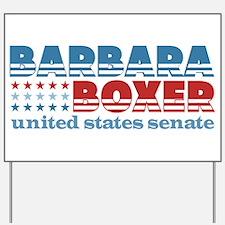 Boxer for Senator Yard Sign