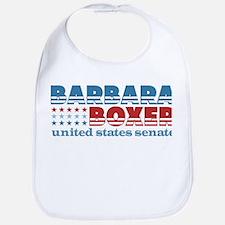 Boxer for Senator Bib