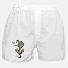 Beer Me T. Rex Boxer Shorts