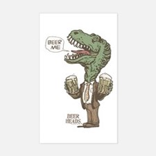 Beer Me T. Rex Decal