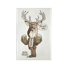 Beer Me Buck Rectangle Magnet