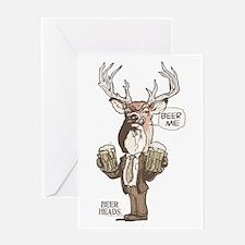 Beer Me Buck Greeting Card