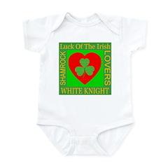 White Knight Infant Creeper
