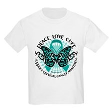 Cervical Cancer Tribal Butter T-Shirt