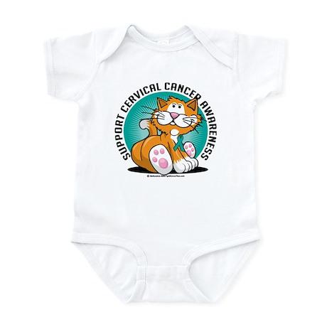Cervical Cancer Cat Infant Bodysuit
