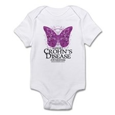 Crohn's Disease Butterfly Infant Bodysuit