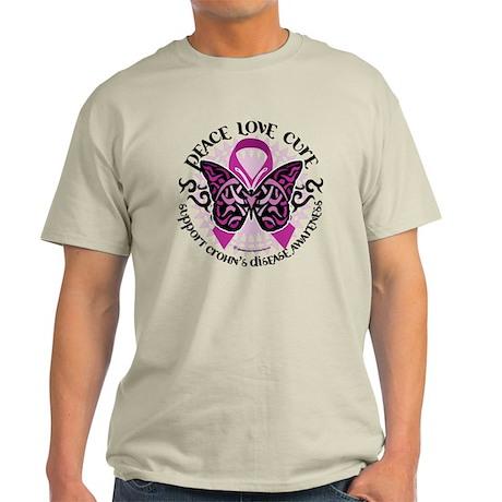Crohn's Disease Tribal Butter Light T-Shirt