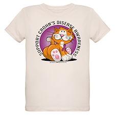 Crohn's Disease Cat T-Shirt