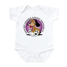 Crohn's Disease Dog Infant Bodysuit