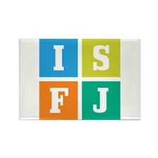Myers-Briggs ISFJ Rectangle Magnet (10 pack)