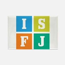 Myers-Briggs ISFJ Rectangle Magnet