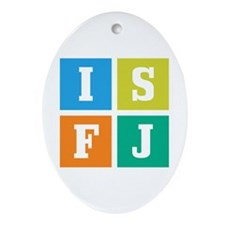 Myers-Briggs ISFJ Ornament (Oval)