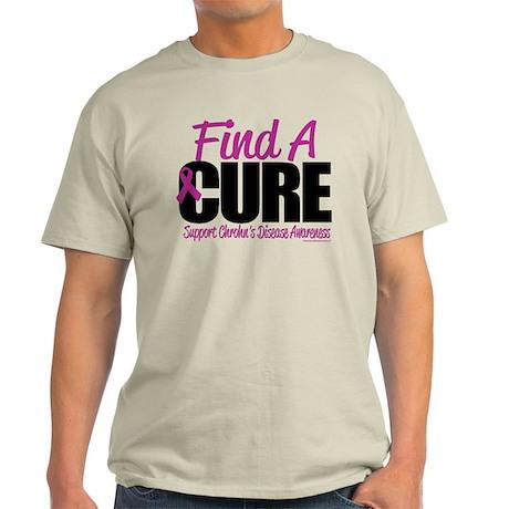 Crohn's Disease Find A Cure Light T-Shirt