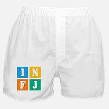 Myers-Briggs INFJ Boxer Shorts