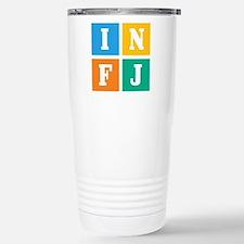 Myers-Briggs INFJ Stainless Steel Travel Mug